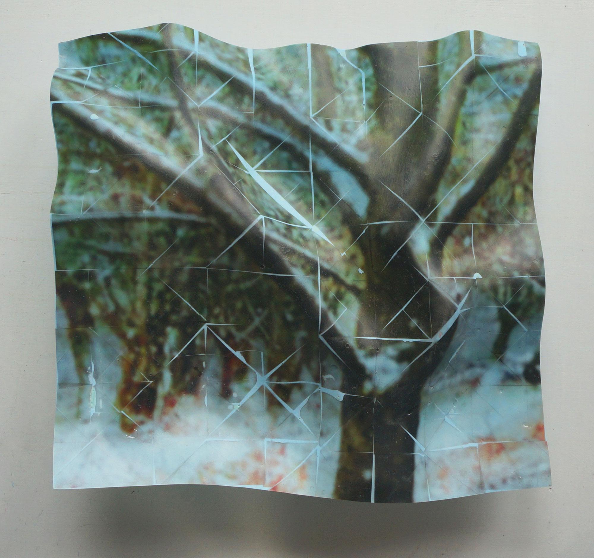 Winter Tree (Version 2), 2021, 45x46x11cms