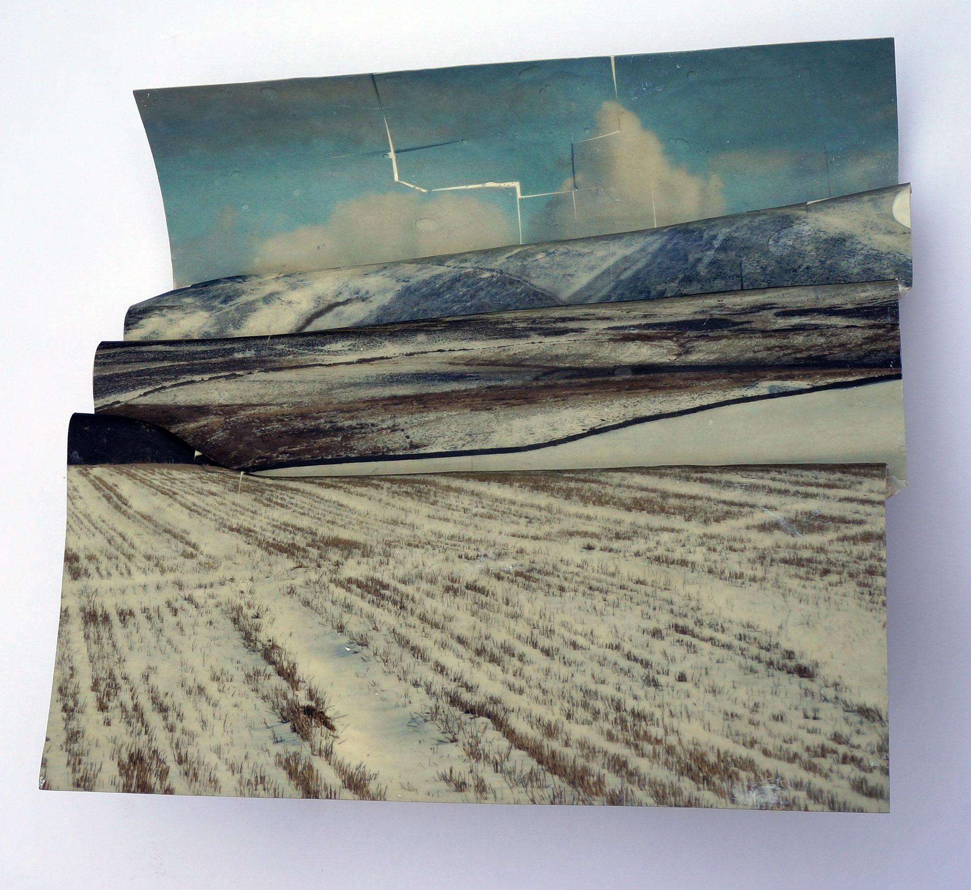 Winter Hills (Version 2), 2020, 37x42x17cms