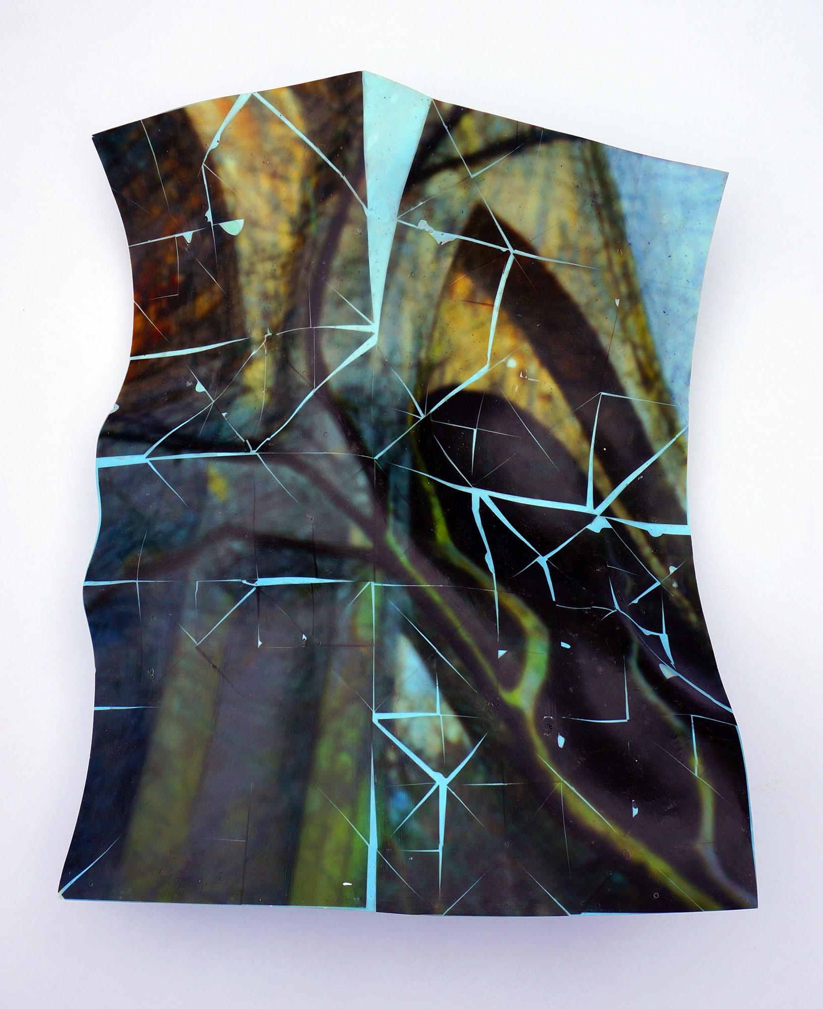 Bridge and Tree (Version 2), 2021, 48x40x13cms